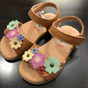 Rachel Shoes Girl Sandals Melrose Tan/Multi